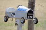Roadside Mail Boxes of rural Australia
