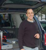 Bicycle race mechanic Will Pennino keeps 'em rolling