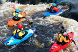 Kayaking on the Shannon