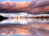 Rain Cloud Reflections