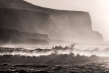 Atlantic Ocean meets Cliffs of Moher
