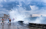 Water Games on the Malecon