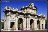 Spain - Madrid - Puerta de Alcalá