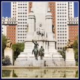 Spain - Madrid - Plaza de Espana