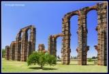 Spain - Merida - Los Milagros Aqueduct