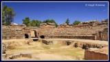 Spain - Merida - Roman Amphitheatre - Dating from 8 BC