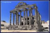 Spain - Merida - Temple of Diana - 1st Century BC