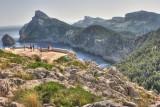 view to the Cap de Formentor