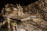 Cutting Firewood on a Black Forest Farm