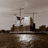 Hamburg, Elbphilharmonie under construction