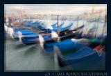 Venice, Gondolas in the Rain