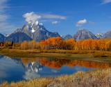 Mount Moran Autumn Glory