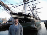 Jesse at the Inner Harbor Baltimore