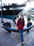 Alison at the Inner Harbor Baltimore