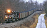 P&L LSX1 Northbound at Summit KY, with 105 loads of coal for the TVA