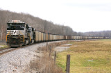 NS 1050 is the bottom DPU on PAL LSX1, seen here at Spring Lick, KY