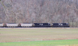 DPU's on PAL LSX1 in the valley near Horse Branch, KY