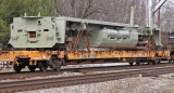 A new GE frame heads South on NS 117