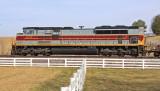 Lackawanna 1074 brings up the rear of train 23G at Vanarsdale