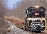S&A 1065 brings train I-23 through the Convoy swag