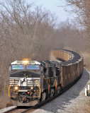 Eastbound coal at Convoy