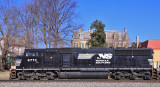 NS 112 at CP Tatem, the Western end of the Louisville District in New Albany Indiana