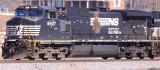 NS 8927 is sporting the all to common burnt GE look, as it leads NS 275 South