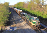 Southbound 23G starts the trip down the CNO&TP as they leave Danville KY