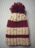 Stretchy Ribbed Hat