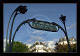 Métro curves - Paris