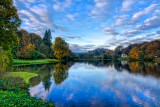 Reflected glory, Stourhead