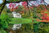Autumn at Stourhead in HDR