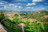 The verdant valley, Sigüenza
