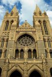 Twin towers, Truro Cathedral, Cornwall