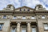 Hungarian Central Bank, rear