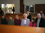 At Heidi's first Communion
