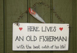 Here Lives and Old Fisherman...