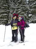 Placid Lake Snow Camping Trip