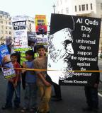 Children of Revolution Holding Placards