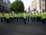Row of Policemen (front)
