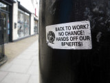 Hands Off Our Benefits!