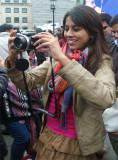 Jyoti Taking Image