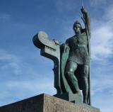 Ingolfur Arnarson_first Icelandic settler_ Reykjavik c 874AD