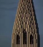 Part of Hallgrimskirkja tower