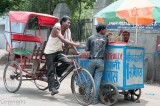 India: Ice-cream vendor, Delhi