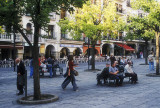 Plaza Mayor at Plasencia