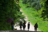 NEW IRELAND, PNG: A quiet day on the Boluminski Highway
