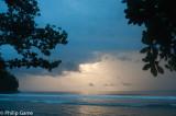 Dawn over the beach at Rubio
