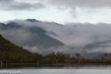 Lac de Yate, a large man-made reservoir
