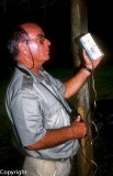 Pioneer conservator Yves Letocart plays Kagu calls (2003)